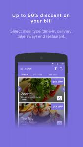 cupon restaurante app